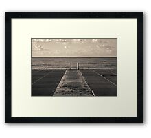 Look to Horizon Framed Print