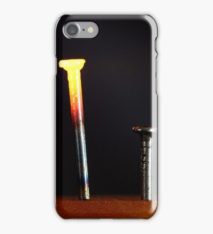 Glowing Nails iPhone Case/Skin