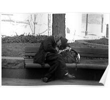 Bench Break - Garfield Park Cincinnati Poster