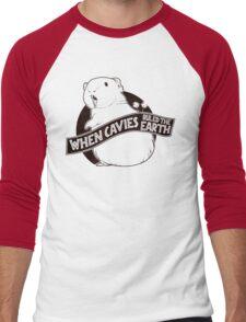 When Pigs Ruled the Earth Men's Baseball ¾ T-Shirt