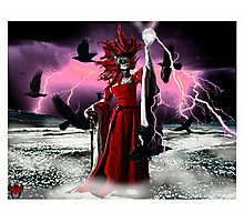 Lightning Queen Photographic Print