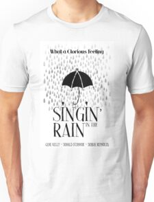 Singin' in the Rain Movie Poster Unisex T-Shirt