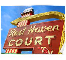 Rest Haven Court Poster