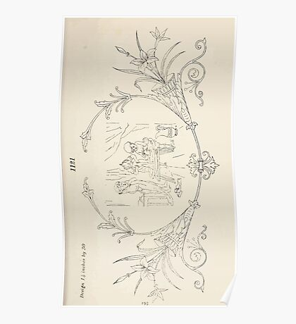 Briggs & Company Patent Transferring Papers Kate Greenaway 1886 0203 Poster