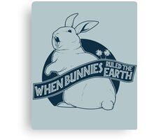 When Buns Ruled the Earth Canvas Print