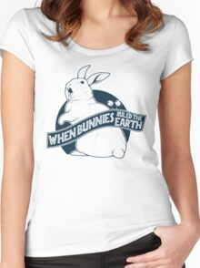 When Buns Ruled the Earth Women's Fitted Scoop T-Shirt