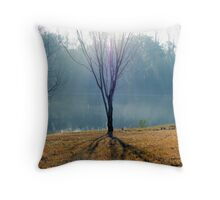 Pale Sunlight: Contrasted Throw Pillow