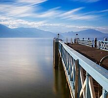 Lake Wörthersee jetty by Delfino