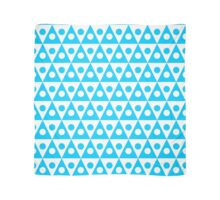 Pattern 260514 - Sky Blue and White Scarf