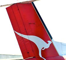 tail fin ~ QANTAS by Jan Stead JEMproductions