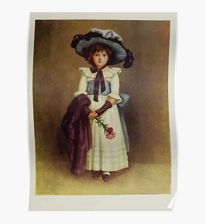 Kate Greenaway Collection 1905 0135 The Little Model Poster