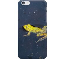 Pond Frog iPhone Case/Skin