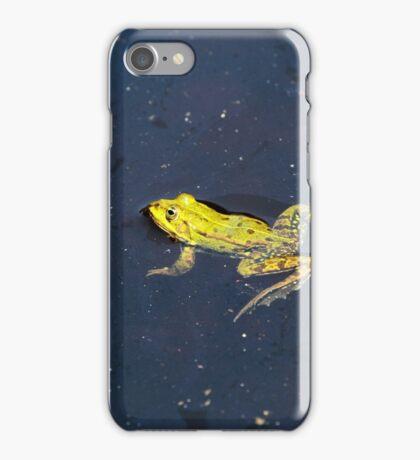 Pond Frog iPhone Case/Skin