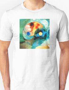 Earth Balance - Yin and Yang Art Unisex T-Shirt