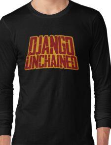 DJANGO UNCHAINED - Typography design Long Sleeve T-Shirt