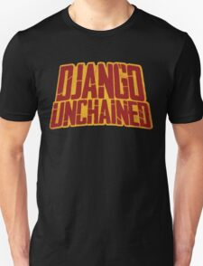 DJANGO UNCHAINED - Typography design T-Shirt