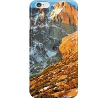 First Light at Longs Peak iPhone Case/Skin