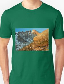 First Light at Longs Peak T-Shirt