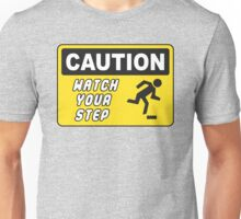 Watch your step - Lego Brick Unisex T-Shirt