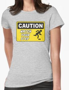Watch your step - Lego Brick Womens Fitted T-Shirt