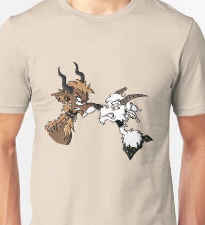 Locking horns Unisex T-Shirt