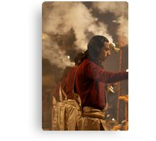 Fragments of Richness: An Indian Expose - ceremony Metal Print