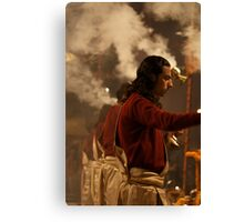 Fragments of Richness: An Indian Expose - ceremony Canvas Print