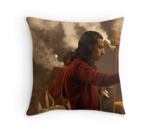 Fragments of Richness: An Indian Expose - ceremony Throw Pillow