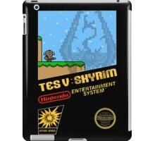 Skyrim Retro NES 8-Bit Cover iPad Case/Skin
