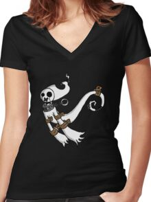 Requiem  Women's Fitted V-Neck T-Shirt