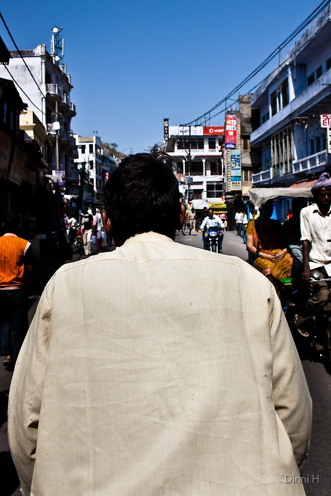 Haridwar: The cycle rikshaw ride by Dinni H