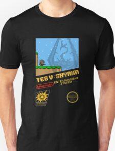 Skyrim Retro NES 8-Bit Cover T-Shirt
