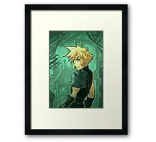 FF7 - The Promise has been Made Framed Print