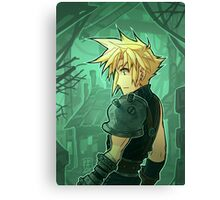 FF7 - The Promise has been Made Canvas Print