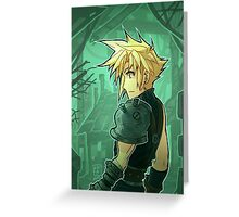 FF7 - The Promise has been Made Greeting Card