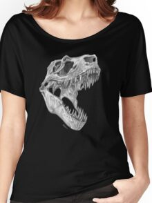 T-rex skull Women's Relaxed Fit T-Shirt