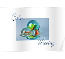 Calm Moving Poster