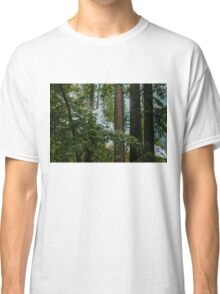 Trees and Smoke Classic T-Shirt
