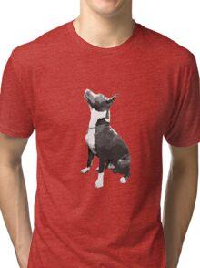 Pit Bull dog Tri-blend T-Shirt