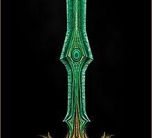 Glass Greatsword - SKYRIM by Daru