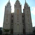 Salt Lake City Temple by Musicman72