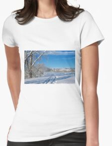 Fresh Tracks Womens Fitted T-Shirt
