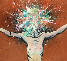 The Vulnerability Evoked in Failing to Capture the Mind's Ceaselessly Combusting Ephemera by Daryll Peirce