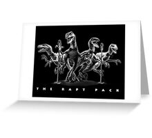 The Rapt Pack Greeting Card