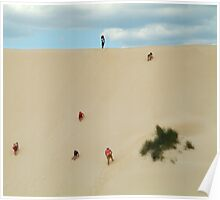 Dune Scramble,Robe South Australia Poster