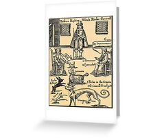 Witch Finder Greeting Card