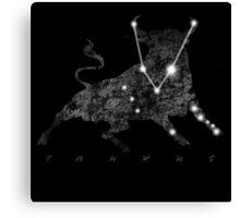 Taurus Constellation Sign  Canvas Print