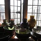 Pots In The Window (1) by MagsWilliamson
