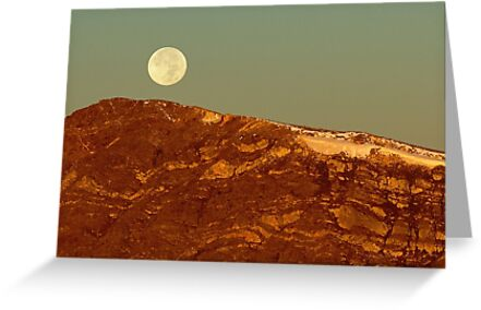Moon Over Mount Ida by Eric Glaser