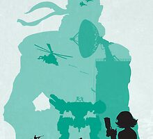 Metal Gear Solid Minimalistic by icedtees